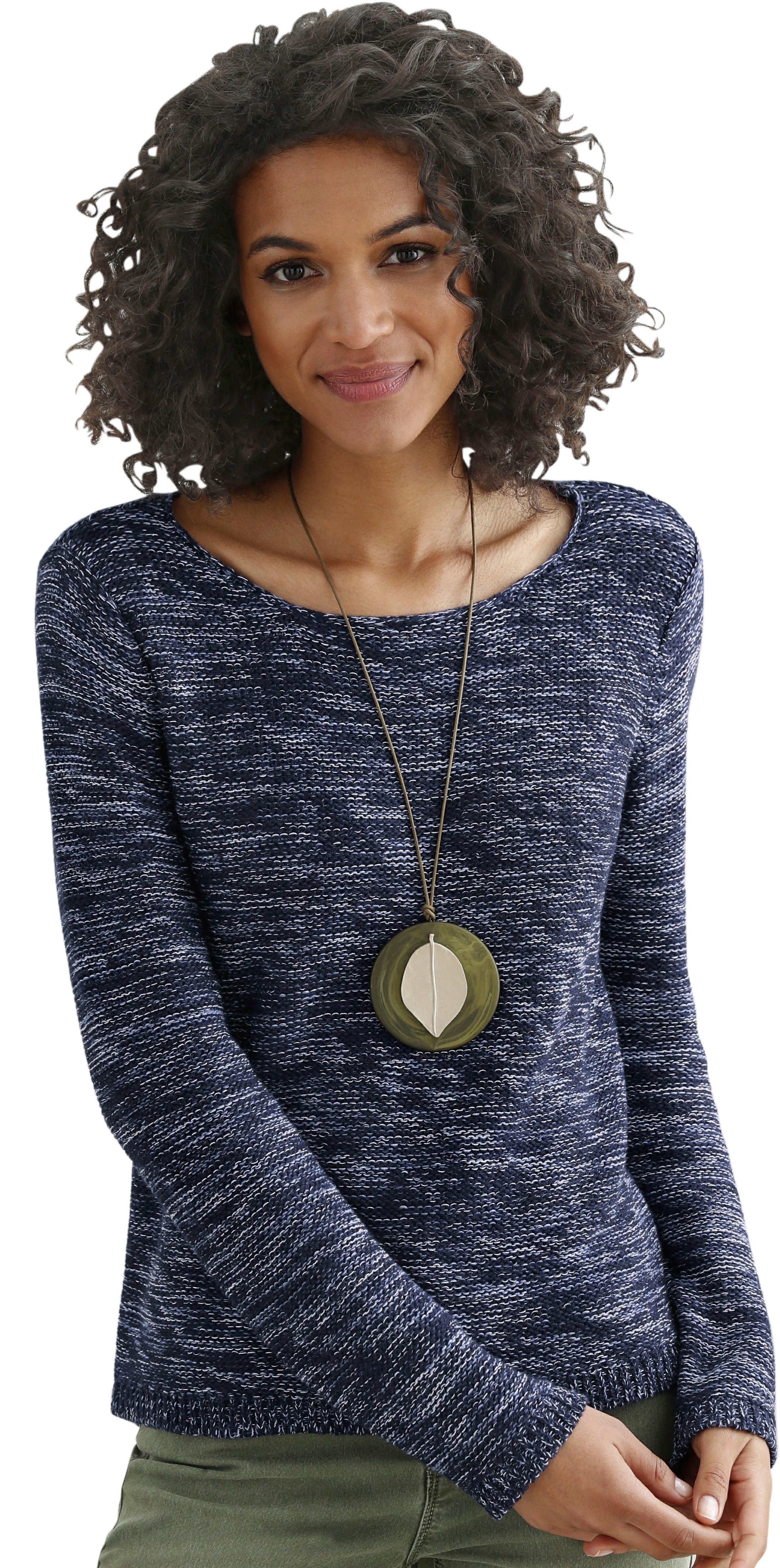 Casual Looks trui, achter langer in de webshop van OTTO kopen