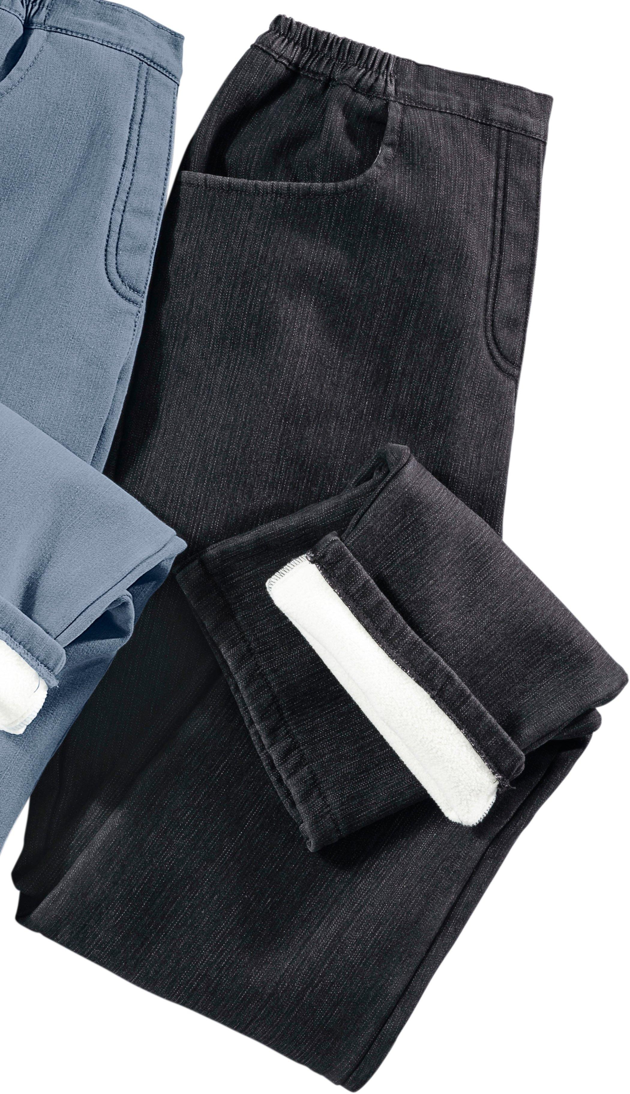Classic Basics thermo-jeans - aan de buitenkant denim, binnenin fleece goedkoop op otto.nl kopen