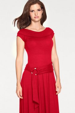 maxi-jurk rood