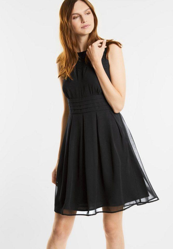 Street One Getailleerde jurk Marta zwart