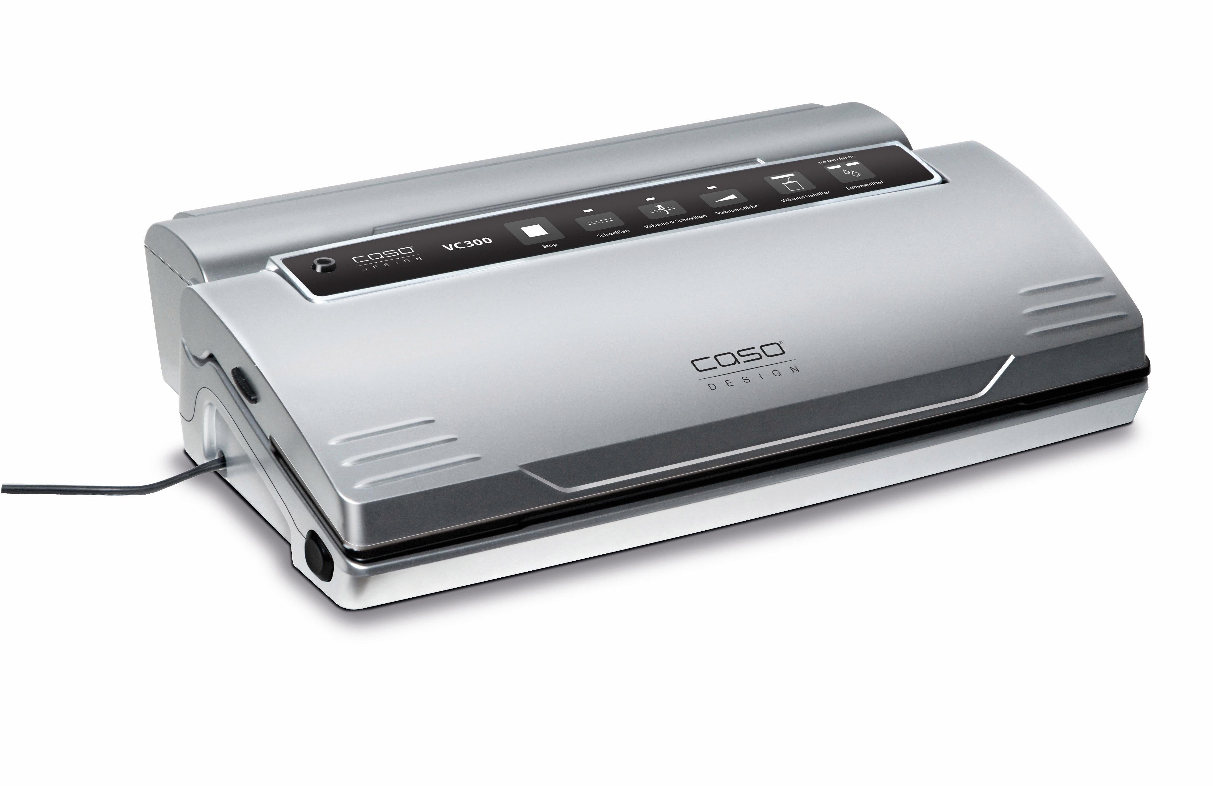 Caso vacumeermachine VC 300 Pro inclusief 2 professionele folierollen en 1 vacumeerslang - gratis ruilen op otto.nl