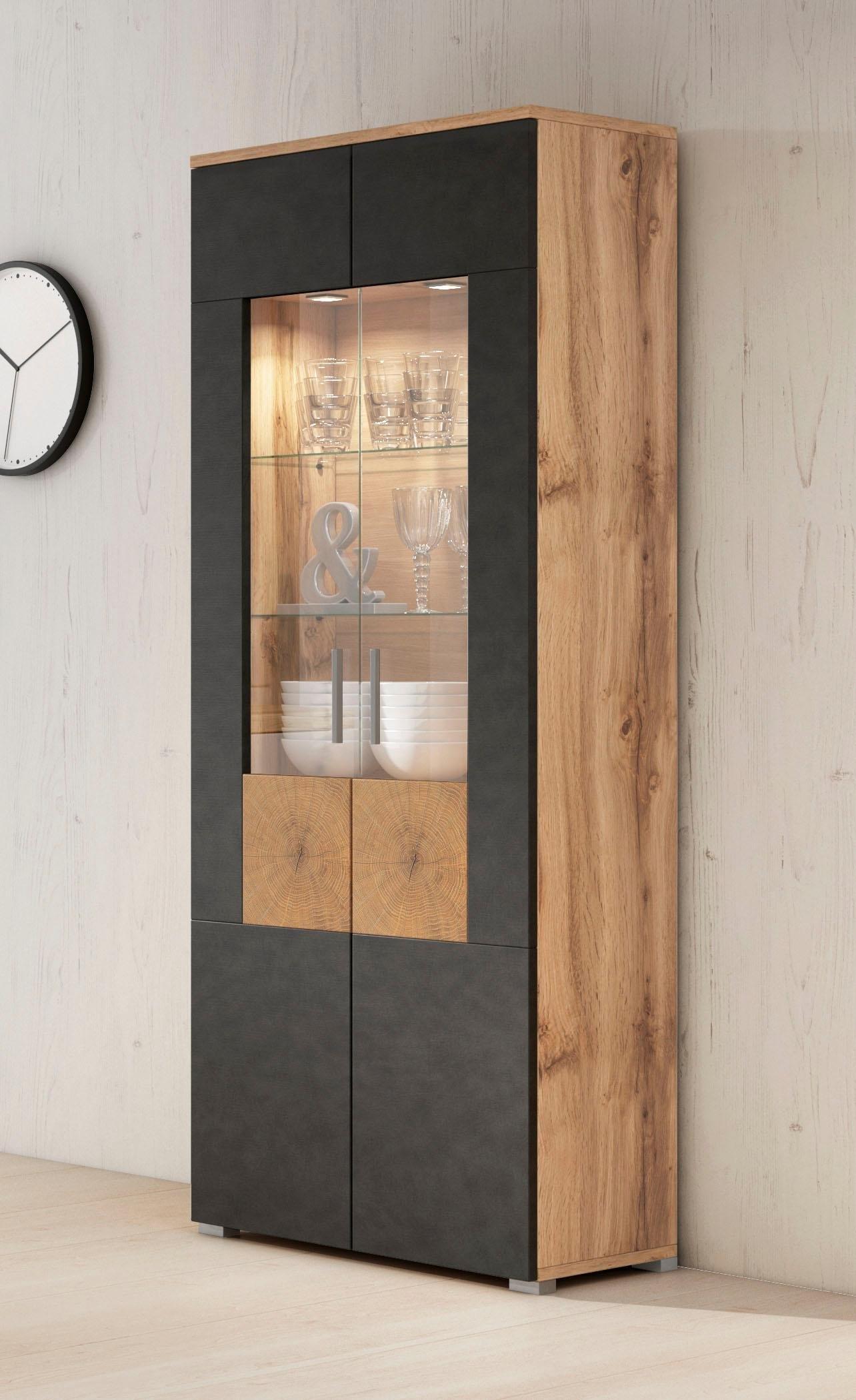 New Vitrinekast »Wobona«, hoogte 180 cm met 2 deuren? Bestel nu bij | OTTO @SF64