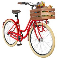 performance toerfiets (dames) 28 inch rood