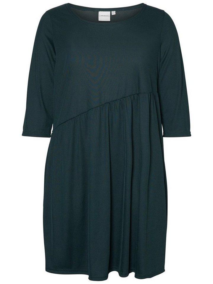 Junarose 3/4-mouwen jurk groen