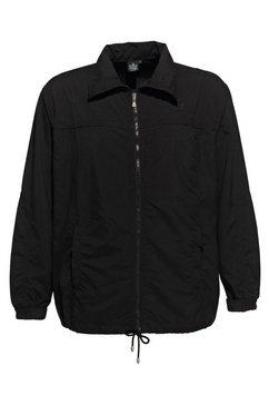 ahorn sportswear trainingsjack met rijgkoord zwart