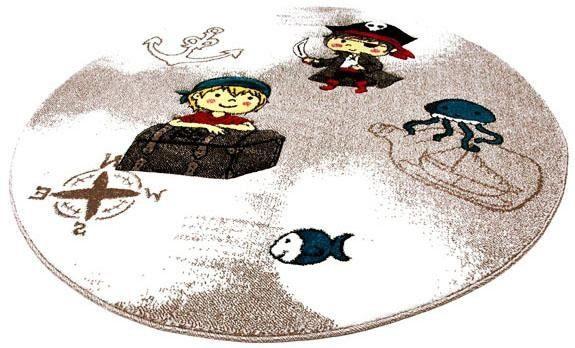 Rond Vloerkleed Kinderkamer : Vloerkleed kinderkamer momo pirat« quinna kids world rond