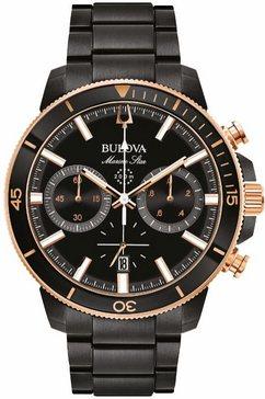bulova chronograaf »98b302« zwart