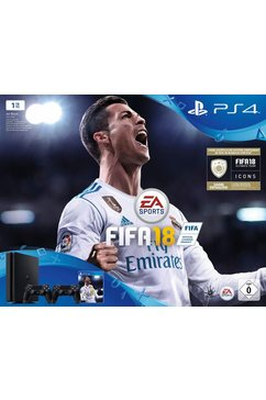 PlayStation 4 (PS4) slim 1TB + FIFA 18 + 2e controller