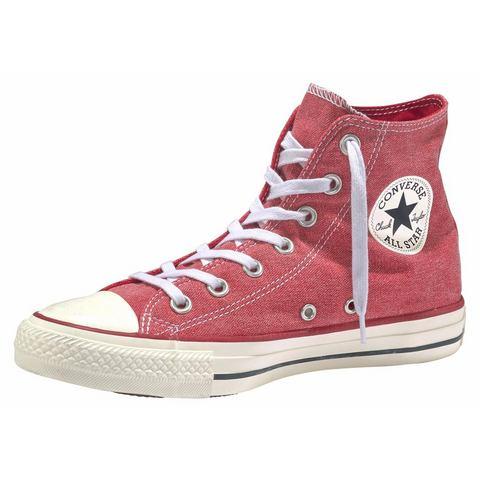 Converse All Star damessneaker rood en wit
