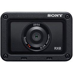 """dsc-rx0 ultracompacte camera met 1,0""""-sensor en waterbestendig en stootvast design zwart"""