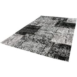 vloerkleed, »antique 100«, luxor living, rechthoekig, hoogte 10 mm, machinaal geweven zwart
