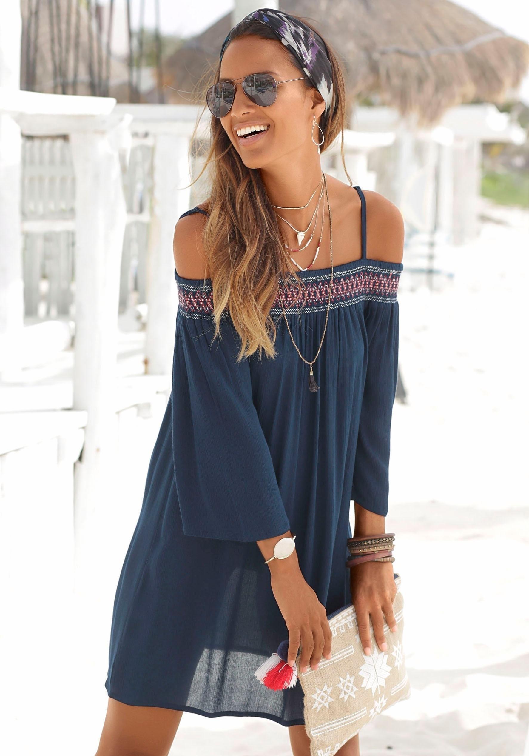 Op zoek naar een s.Oliver Beachwear s.Oliver RED LABEL Beachwear strandjurk? Koop online bij OTTO