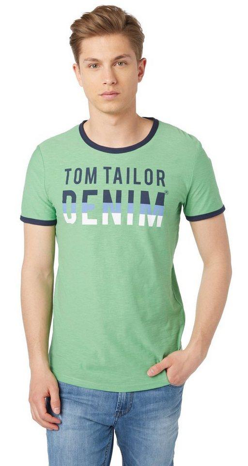 - NU 21% KORTING TOM TAILOR DENIM T - shirt T - shirt met logoprint