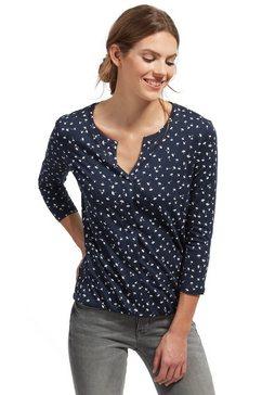 T-shirt »shirt met een bloemenprint«