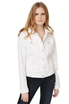 tom tailor jas »jeansjack met stretch« wit