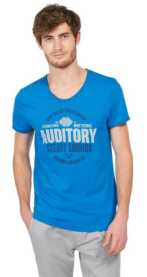 - NU 21% KORTING TOM TAILOR T - shirt casual T - shirt met opdruk