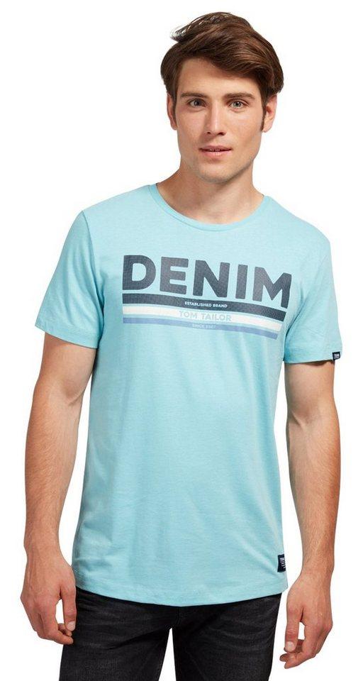 - NU 21% KORTING TOM TAILOR DENIM T - shirt T - shirt met tekstprint