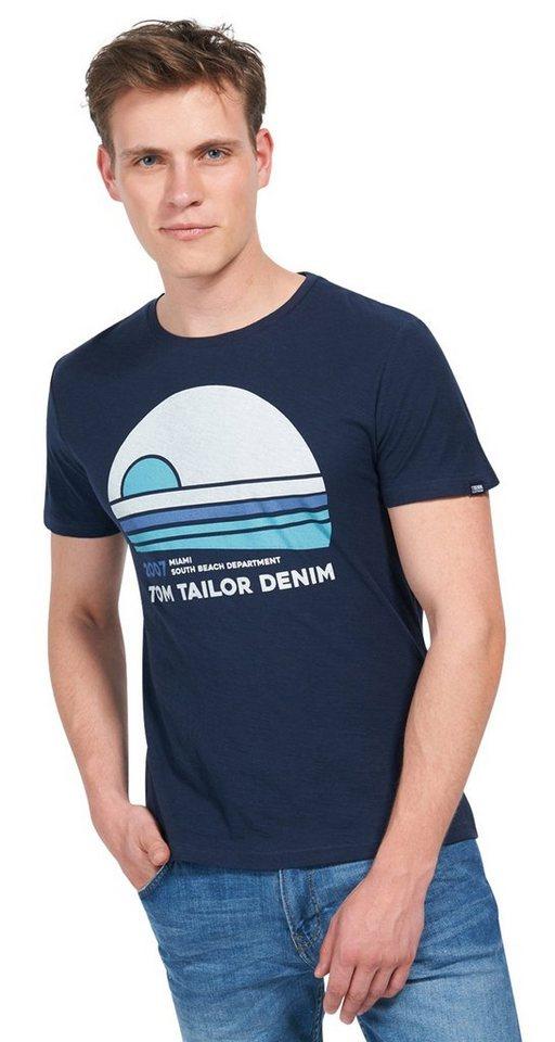 - NU 21% KORTING TOM TAILOR DENIM T - shirt T - shirt met opdruk