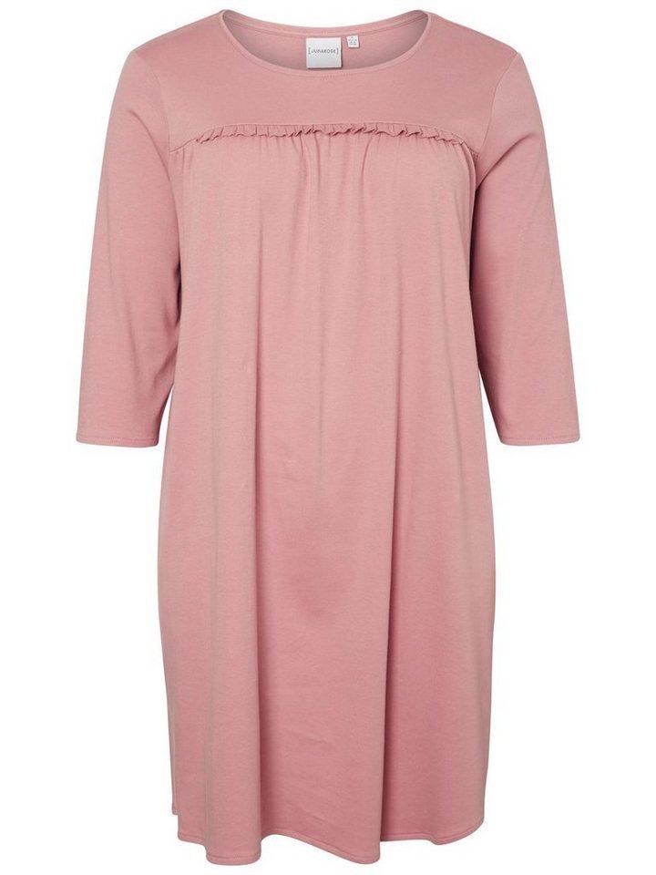 Junarose Loose fit jurk roze