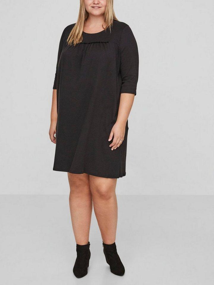 Junarose Loose fit jurk zwart
