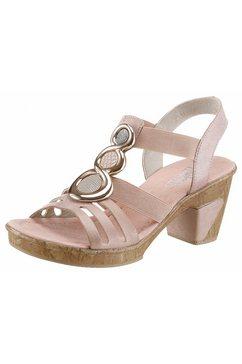 rieker sandaaltjes roze
