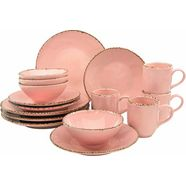guido maria kretschmer homeliving combi-servies 'naturals' (16-delig) roze