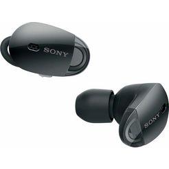 sony wf-1000x truewwireless hoofdtelefoon inclusief oplaad-etui zwart