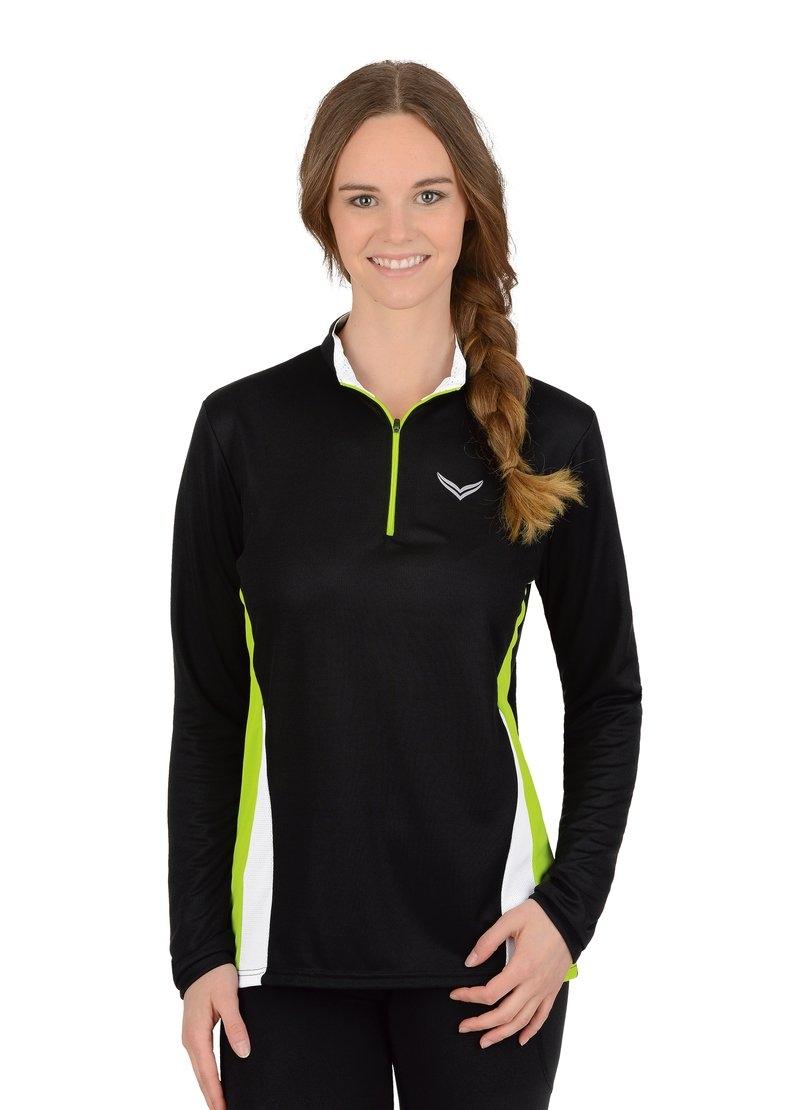 Trigema Functioneel shirt met lange mouw COOLMAX® - verschillende betaalmethodes