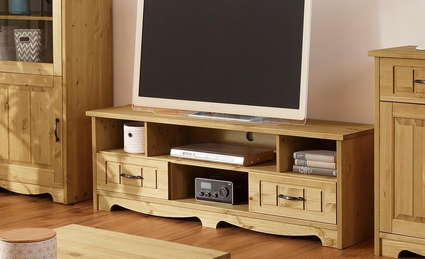 Home affaire tv-meubel Trinidad Breedte 148 cm, met 2 lades nu online bestellen