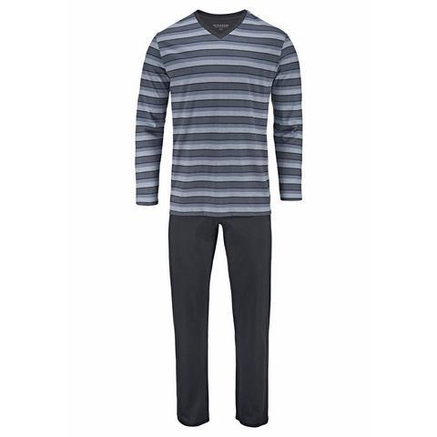 Schiesser NU 15% KORTING: Schiesser lange pyjama lang