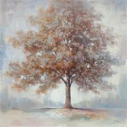 premium collection by home affaire schilderij »tree ii« bruin