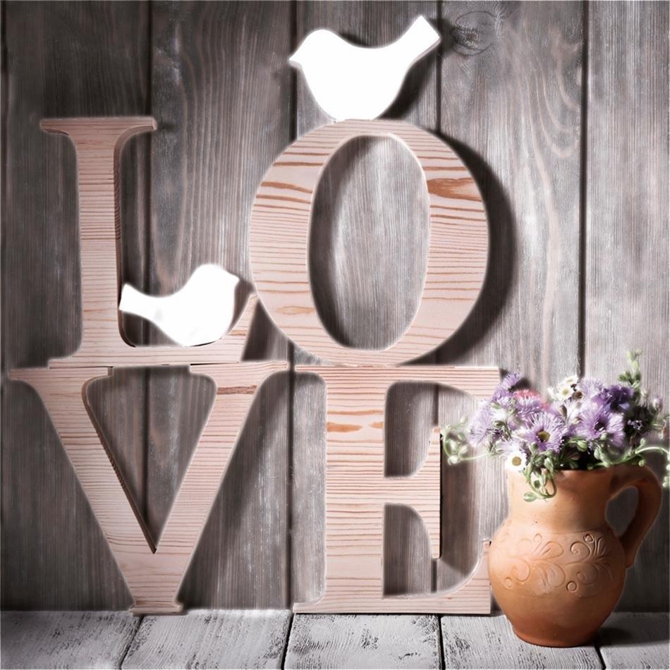 Home affaire artprint op linnen Love Sephia 40/40 cm nu online kopen bij OTTO