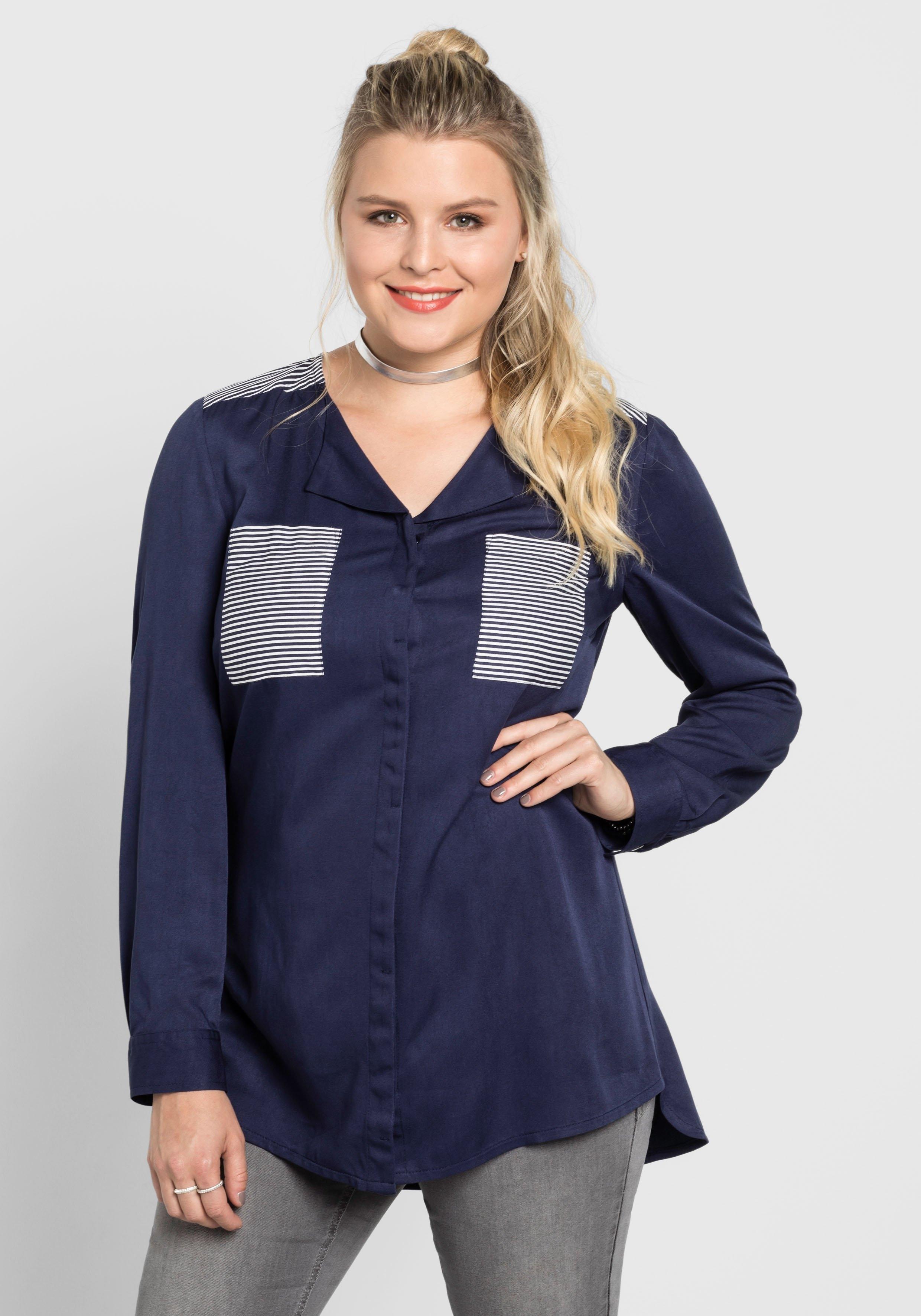 Sheegotit lange blouse - gratis ruilen op otto.nl