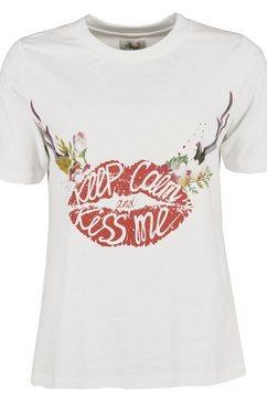 jcc t-shirt »kiss« wit