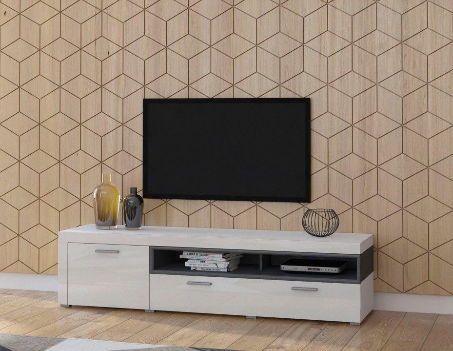 TRENDMANUFAKTUR tv-meubel Cara Breedte 189 cm nu online bestellen
