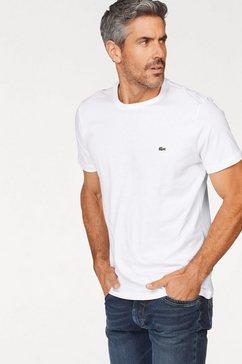 lacoste t-shirt van puur katoen wit