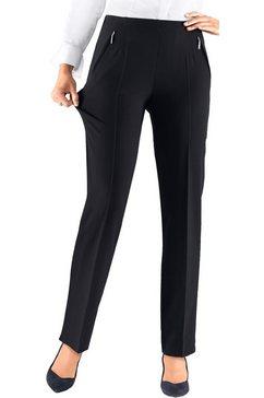 adelina broek in bewegingselastische, vormvaste magic-stretchkwaliteit blauw