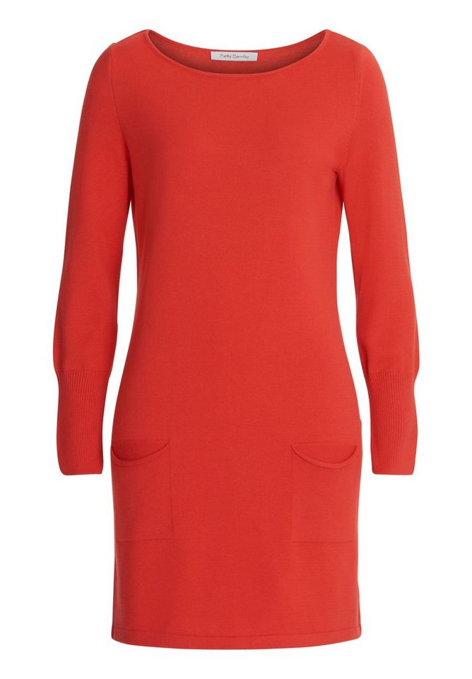 Betty Barclay gebreide jurk rood