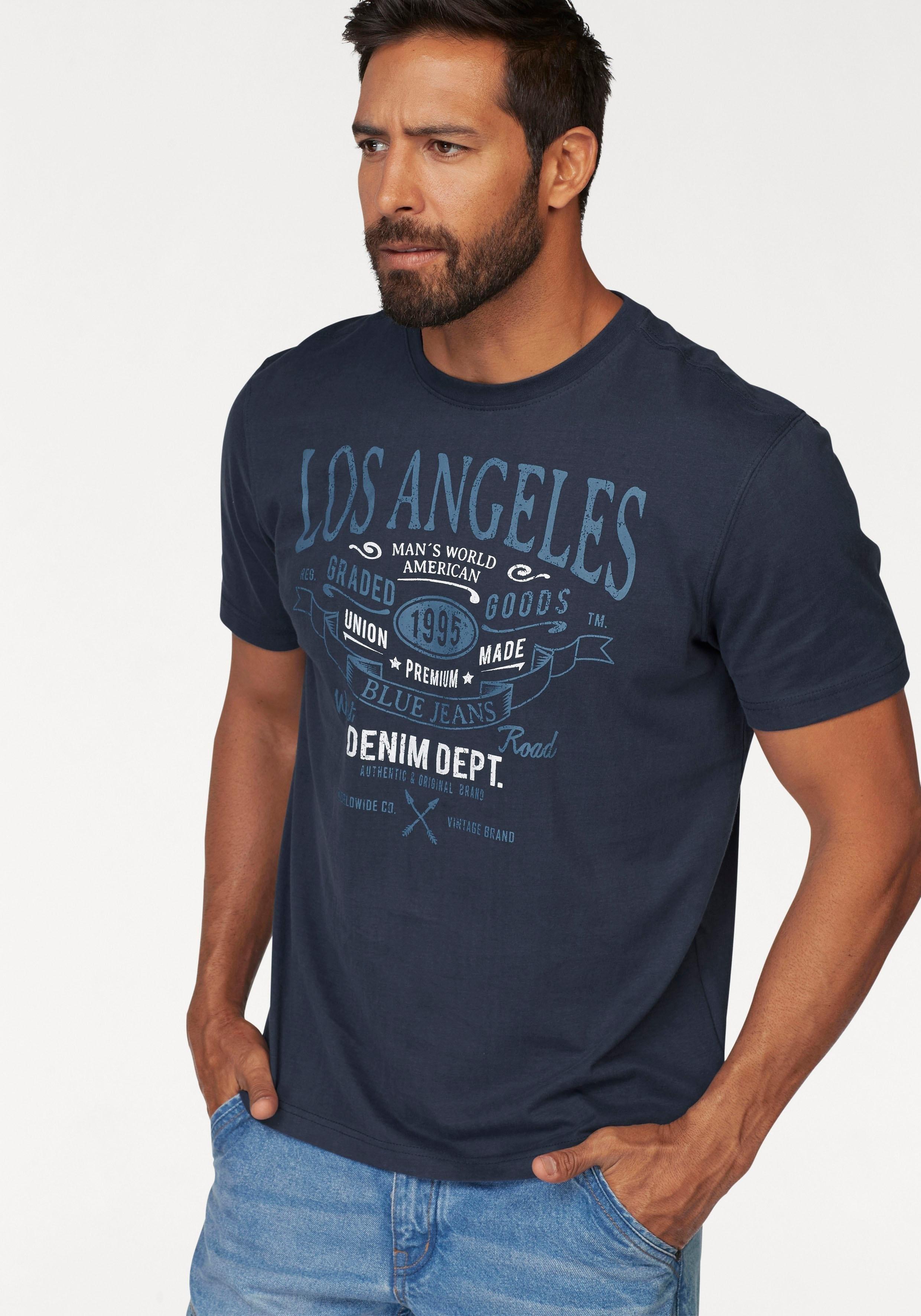 Man's World T-shirt - verschillende betaalmethodes