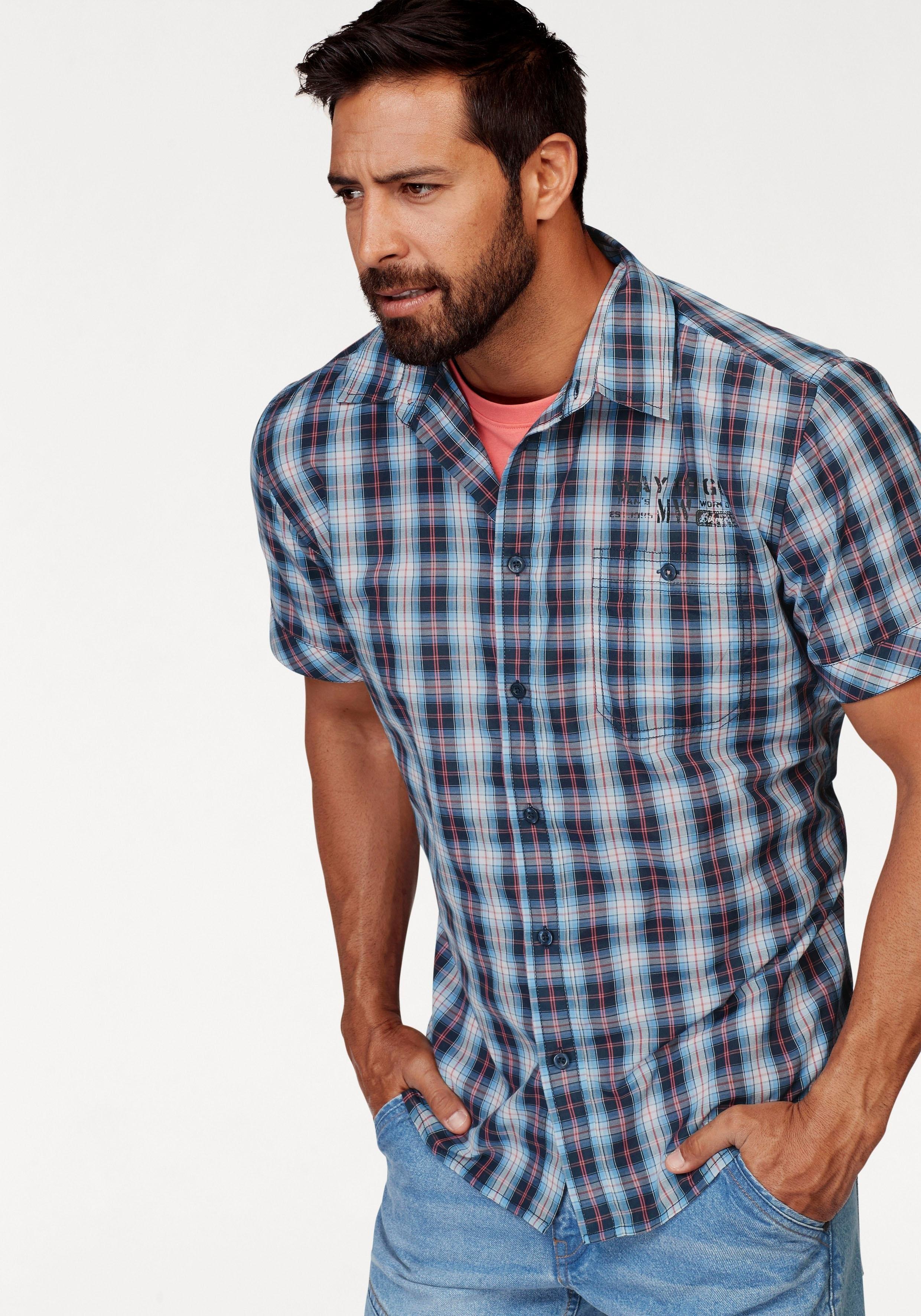 Man's World overhemd met korte mouwen veilig op otto.nl kopen