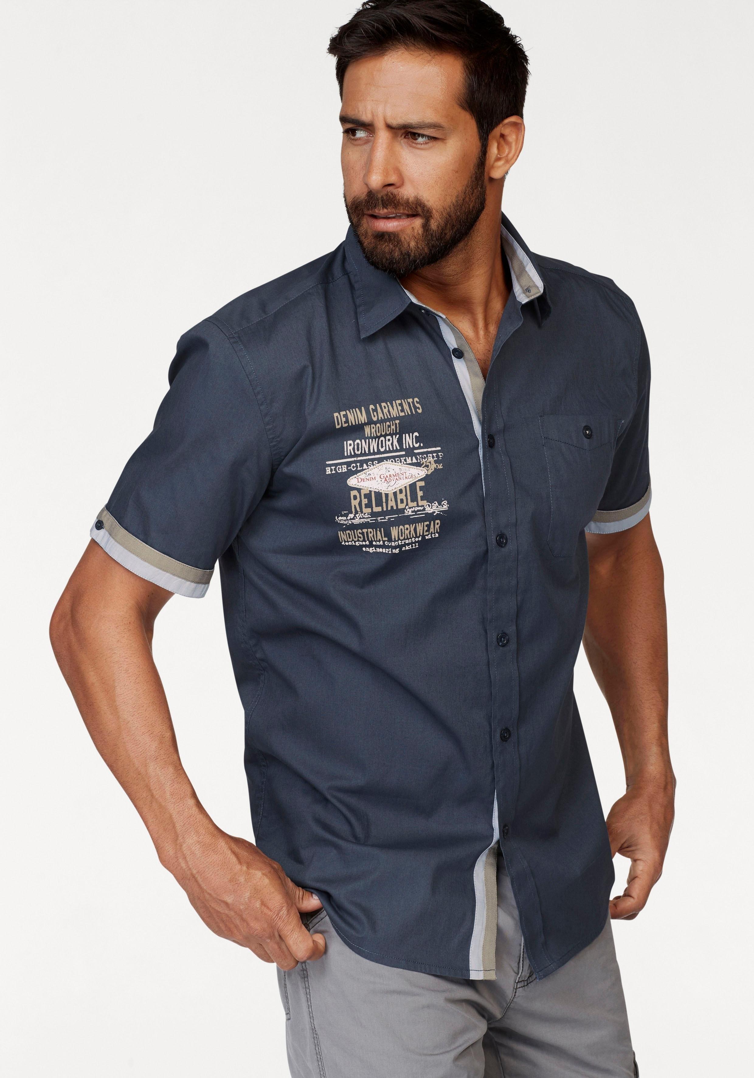 Korte Mouw Overhemd Mannen.Man S World Overhemd Met Korte Mouwen Makkelijk Gekocht Otto