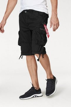 alpha industries short jet zwart