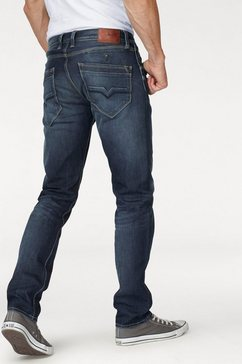 pepe jeans stretch jeans »spike« blauw