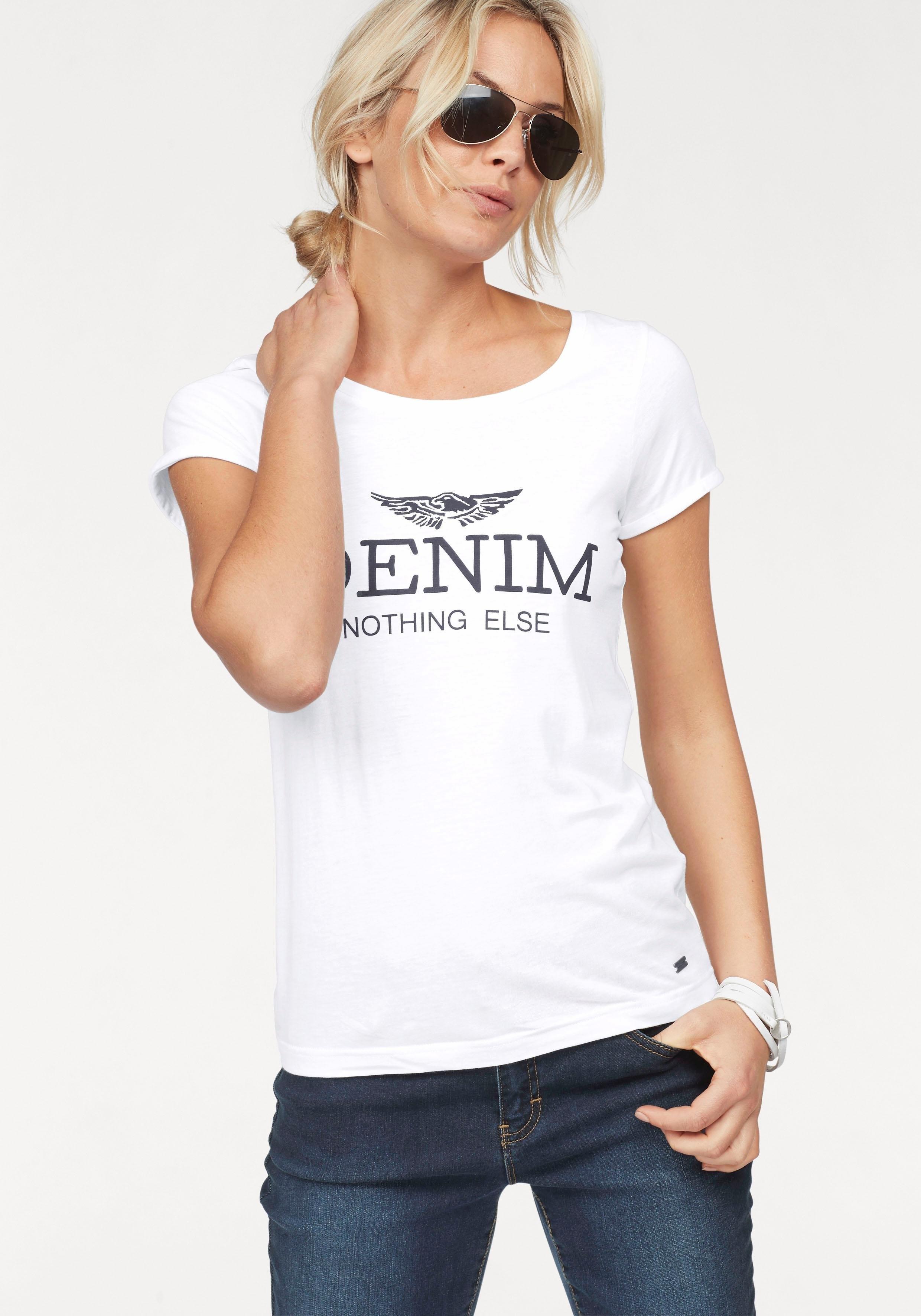 ARIZONA Shirt met statement-print bij OTTO online kopen