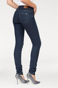 arizona slim fit-jeans blauw