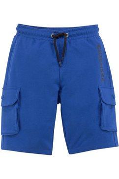 chiemsee sweatbermuda »cargo« blauw