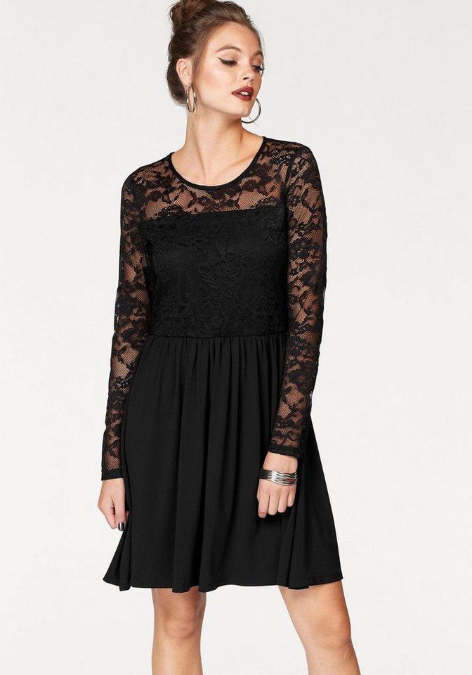 ONLY kanten jurk NEW INA zwart