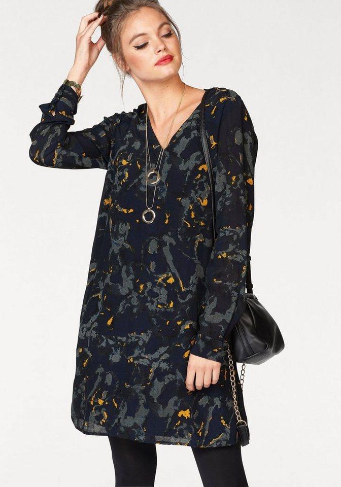 Vero Moda gedessineerde jurk GABRIELLA blauw