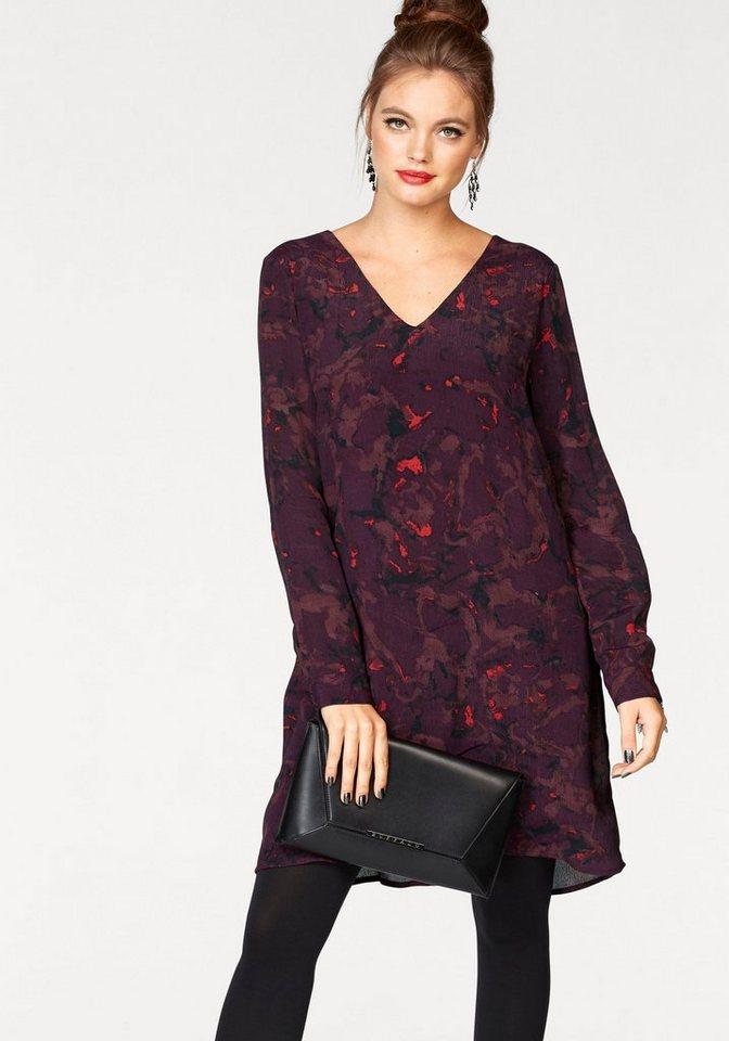 Vero Moda gedessineerde jurk GABRIELLA rood
