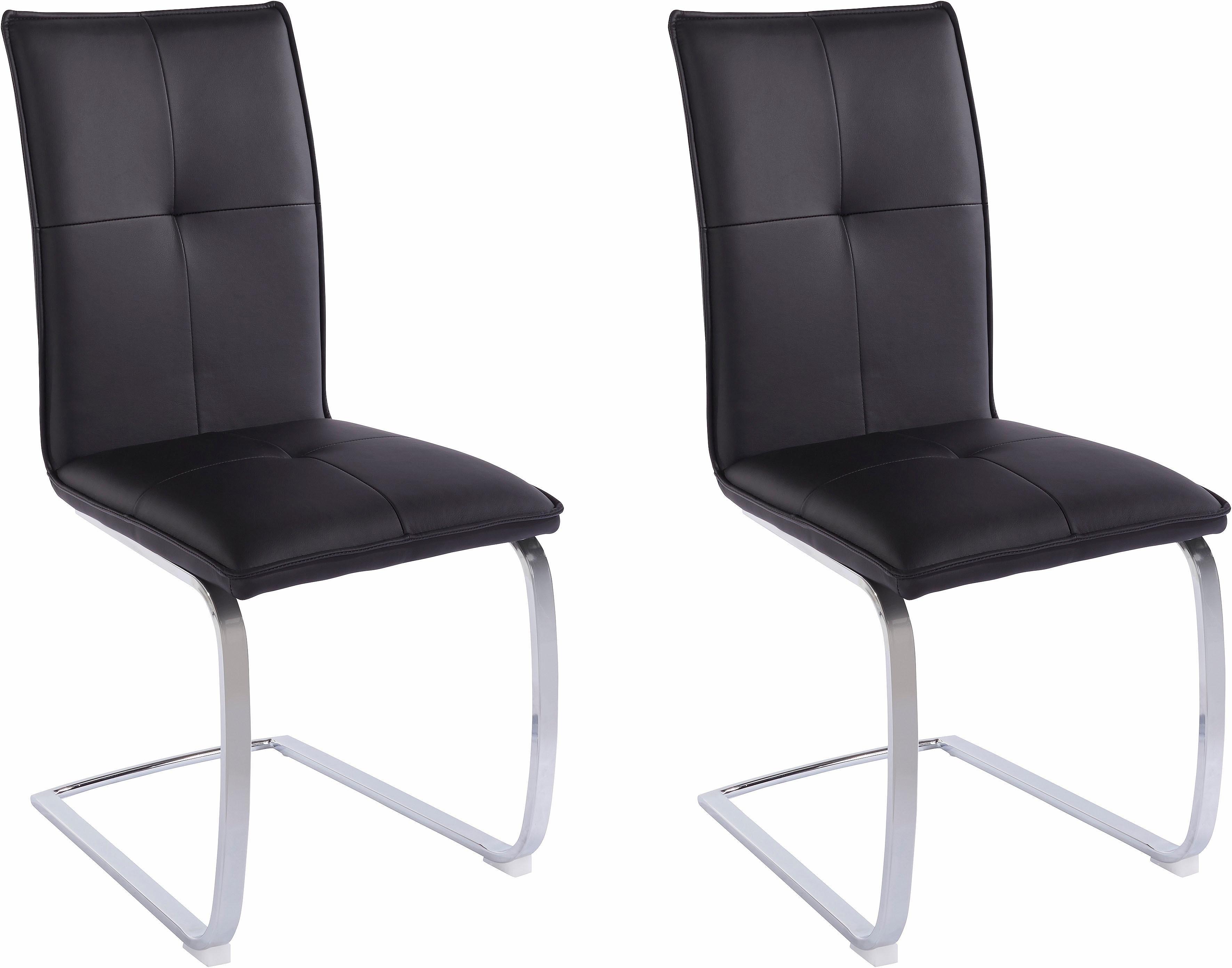Homexperts Steinhoff vrijdragende stoel (set van 2) online kopen op otto.nl